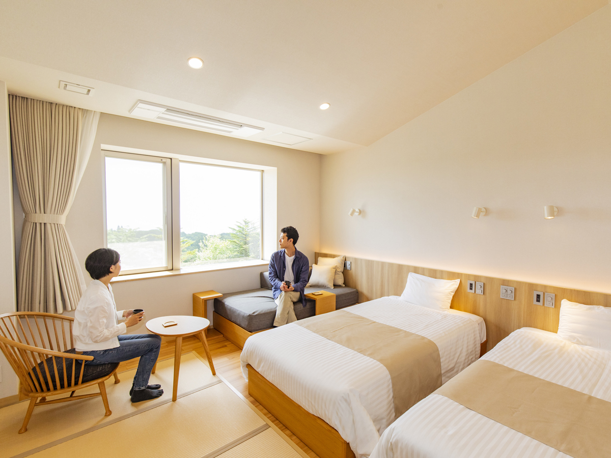 Renewed in 2019! Japanese and Western-Style Rooms